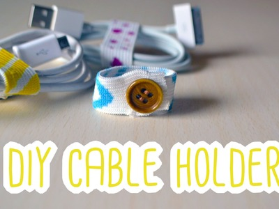 DIY Cable Holder | 5mins DIYs #1
