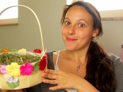 DIY Cute Girly Easter Basket