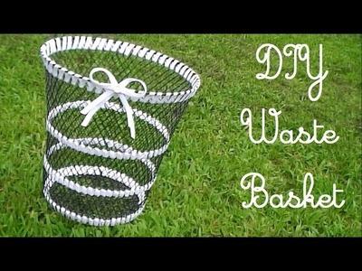 DIY Cute Waste Basket!