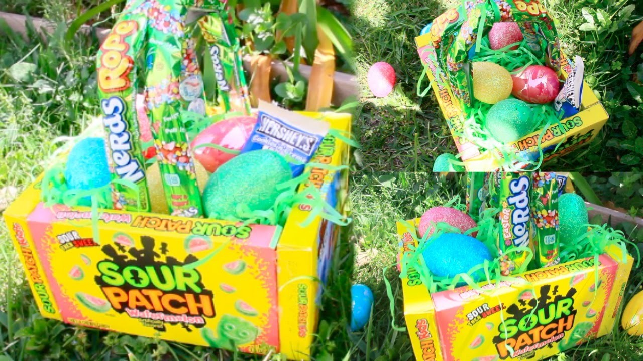 DIY Edible Easter Baskets!