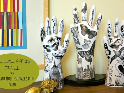 DIY Fornasetti Style Hands