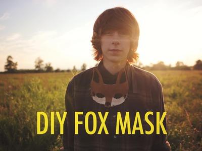 DIY: FOX MASK