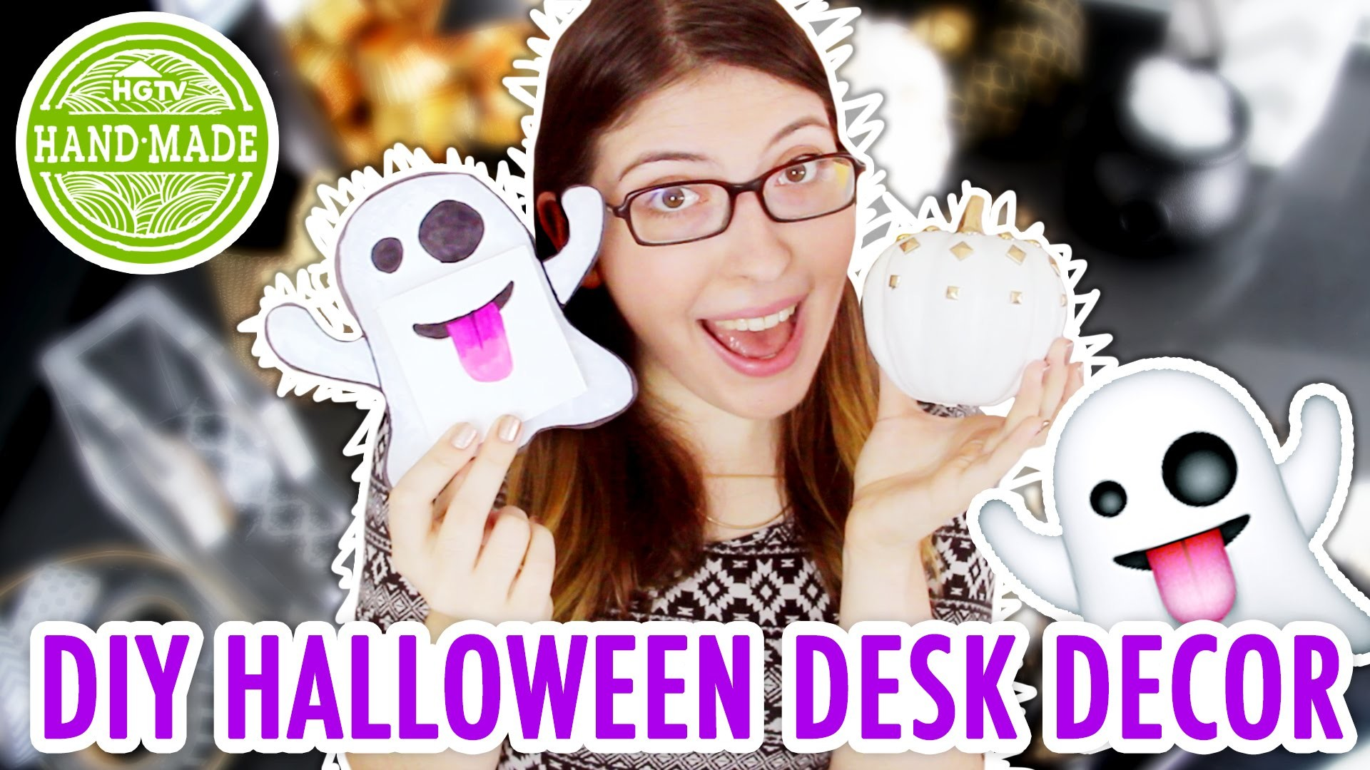 DIY Halloween Desk Decor! - HGTV Handmade