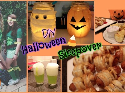 DIY Halloween Sleepover
