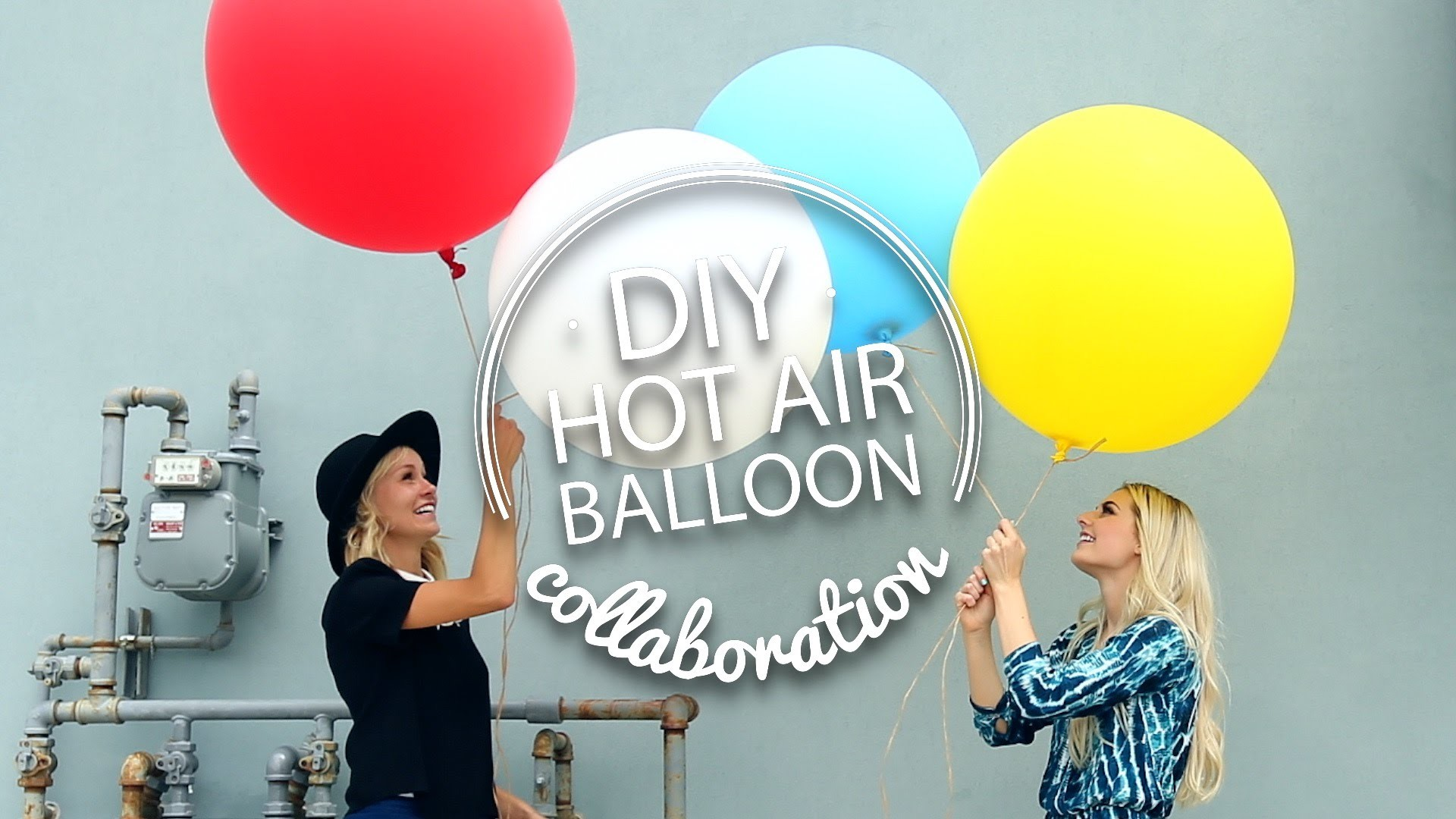 DIY Hot Air Balloon [Aspyn Floats!]