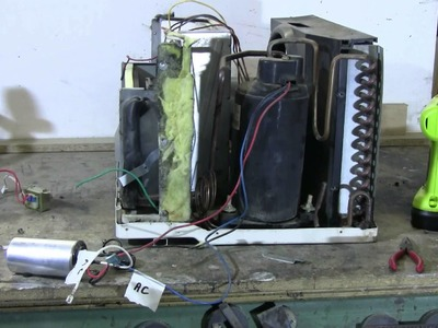 DIY - How To Get The Compressor Out Of A Window Air Conditioner