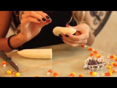 DIY No Bake Healthy Halloween Treats