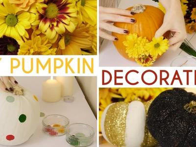 DIY Pumpkin Decorating Ideas