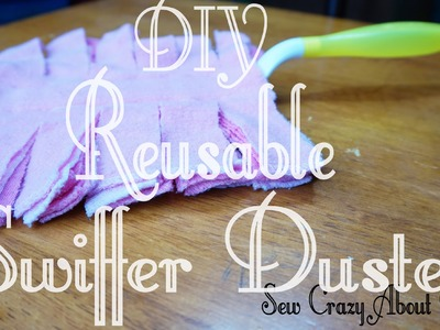 DIY: Reusable Swiffer Duster