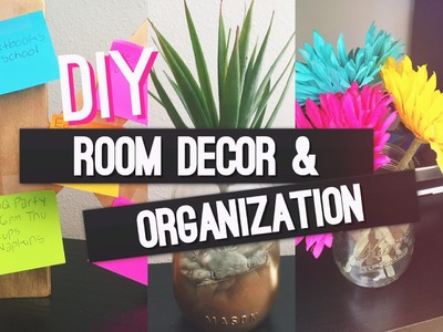 DIY Room Decor and Organization for 2015!