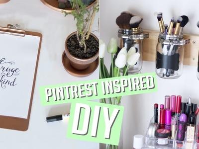 DIY Room Decor + Organisation - Pintrest Inspired