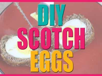 DIY Scotch Eggs