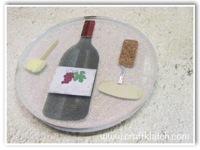 DIY Wine Coaster   Another Coaster Friday