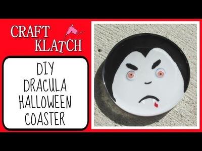 Dracula Vampire Coaster DIY   Another Coaster Friday