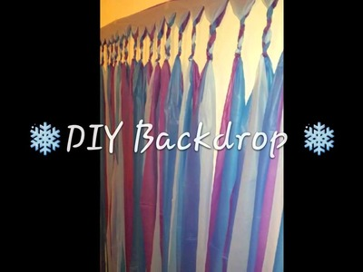 Frozen Party Ideas & DIY