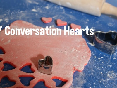 Fun Activity w.your kids! DIY Conversation Hearts! Valentines Day