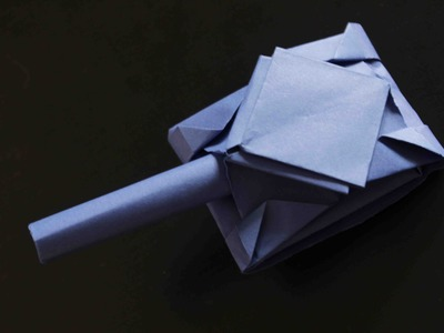 How to make a paper tank