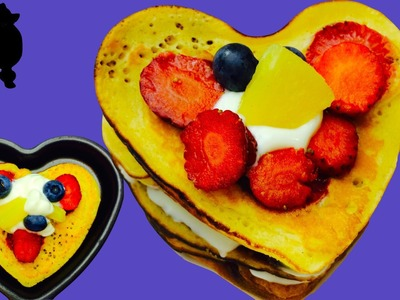 How to make VALENTINES STRAWBERRY HOTCAKES.PANCAKES.GRIDDLE CAKES DIY Dog Food by Cooking For Dogs