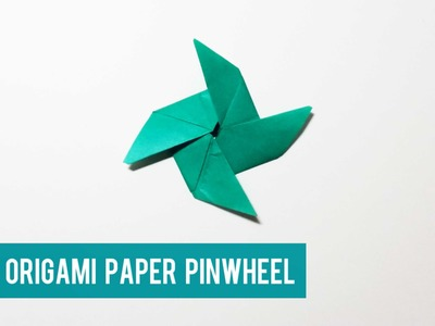 Let's create a Paper Pinwheel ( Traditional )