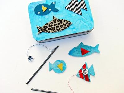 Magnetic Fishing Game DIY