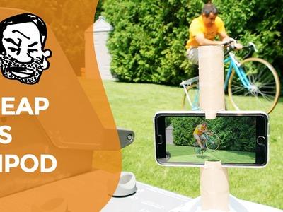 Make a DIY Phone Tripod