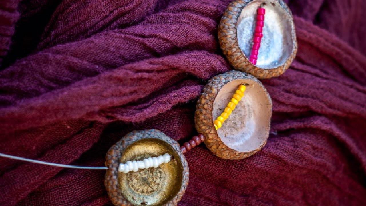 Make a Pretty Acorn Cap Necklace - DIY Style - Guidecentral