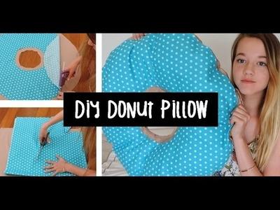 No-Sew Donut Pillow DIY