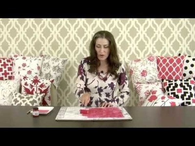 Paint-A-Pillow! DIY Designer Accent Pillows Made Easy!