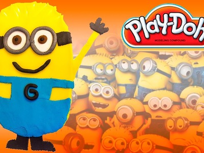 Play Doh Minions Despicable Me Gru Mi Villano Favorito DIY Play Dough Minions Shape