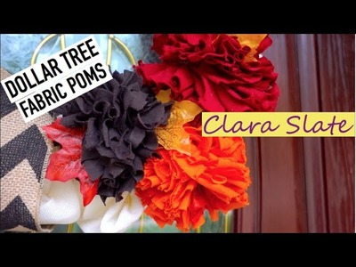 Autumn DOLLAR TREE DIY!!! Front Door Decor | Dollar Tree Collab