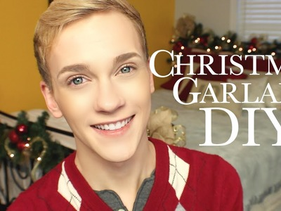 Christmas Garland DIY :: JonathanCurtisOnYT