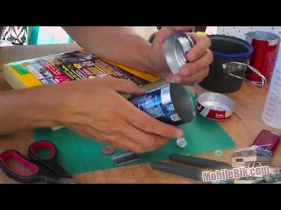 DIY Camping Stove From Soda Pop Cans - Part 2
