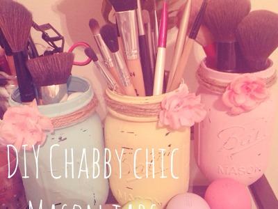 DIY Chabby Chic Mason Jars