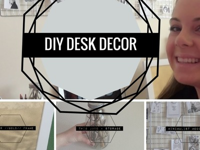 DIY Desk Decor