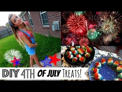DIY Fourth of July Festive & Fun Treats!  ☼
