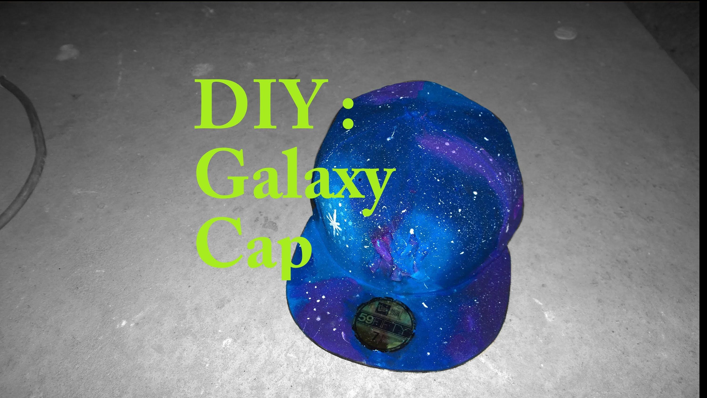 DIY: Galxy Cap
