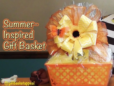 DIY Gift Basket for Summer - #LoveSummerArt - GiftBasketAppeal