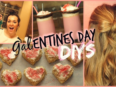 DIY Girl's Valentines Day Treats, Hairstyle, & Activities!
