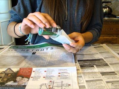 DIY Glitter Bomb Card