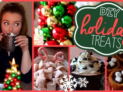 DIY Holiday Treats! Quick & Easy