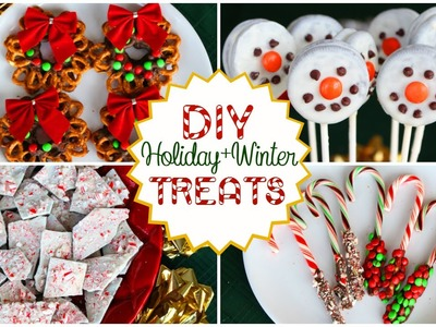 DIY Holiday.Winter Treats! Quick, Easy, and Delicious