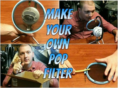 DIY: Make Your Own Pop Filter With a