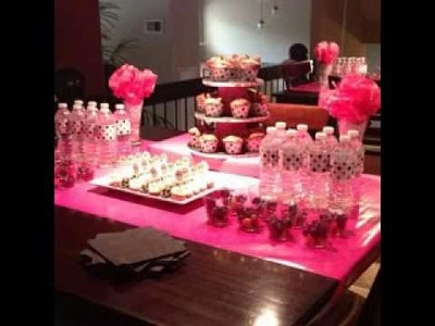DIY Pink party decorating ideas