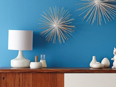 DIY PROJECT: Retro wall art - homes+