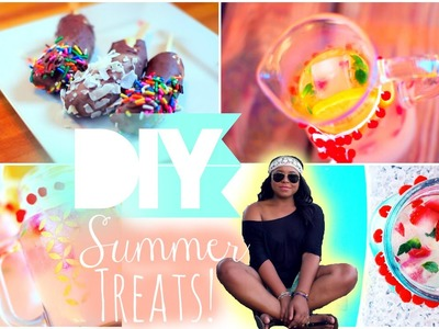 DIY Summer Treats & DIY Mason Jar  Quick and Easy!