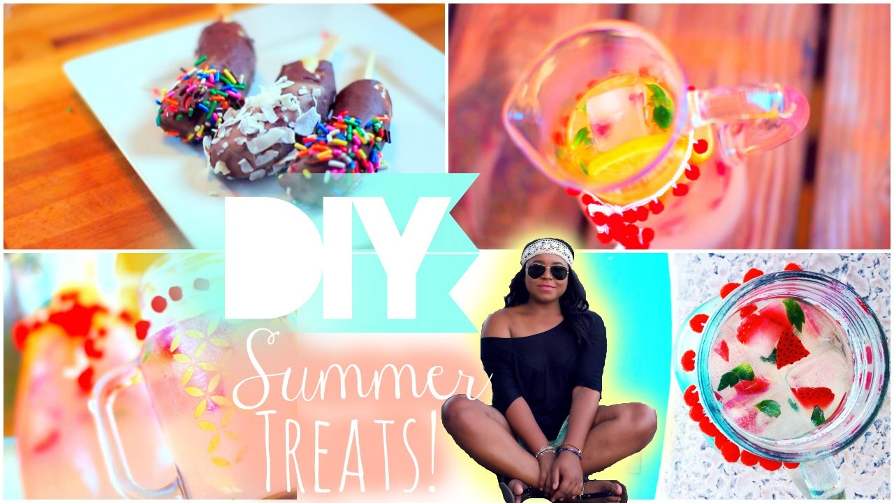 DIY Summer Treats & DIY Mason Jar| Quick and Easy!