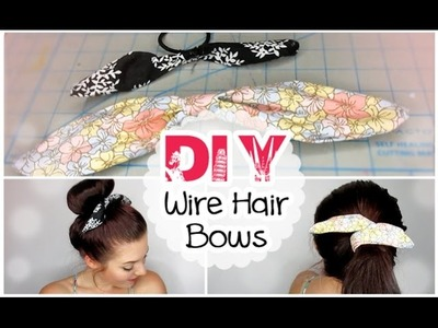 DIY Wire Hair Bows | #BTSwithAmanda