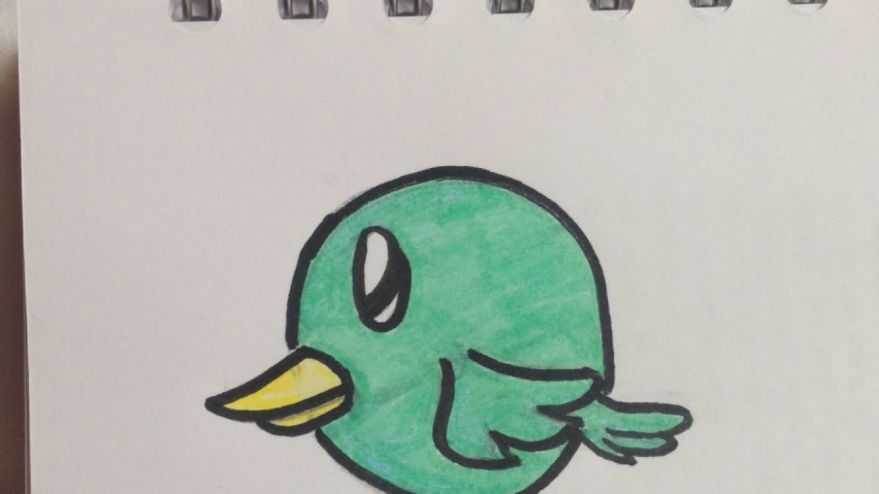 Draw a Cute Little Bird - DIY Crafts - Guidecentral