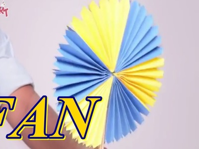 How To Make A Paper Fan | SMART Art