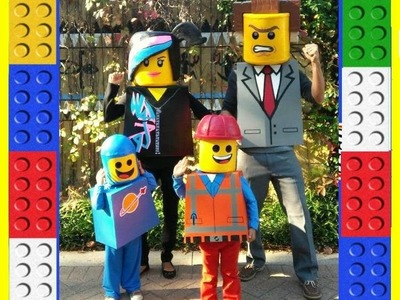 How to make The LEGO Movie Costumes. DIY.